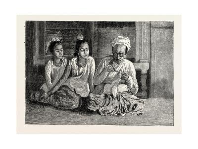 A Visit to the Doctor in Burma--Giclee Print