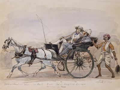 A Visit to the Jail, 1849-Philip Charles Trench-Giclee Print