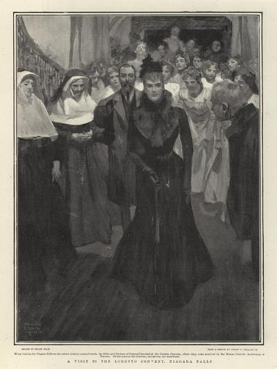 A Visit to the Loretto Convent, Niagara Falls-Frank Craig-Giclee Print