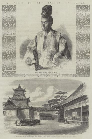 A Visit to the Tycoon of Japan--Giclee Print