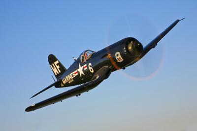 A Vought F4U-5N Corsair Aircraft of the Flying Nightmares