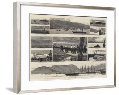 A Voyage from England to Natal in the Union Steam-Ship Arab-Joseph Nash-Framed Giclee Print