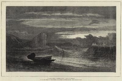 A Waif from a Missing Ship-Samuel Phillips Jackson-Giclee Print