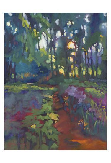 A Walk After Breakfast-Karen Mathison Schmidt-Art Print