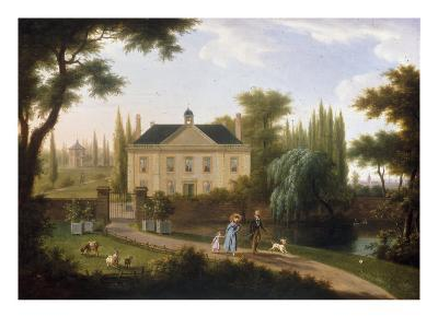 A Walk in the Park-Franz Swagers-Giclee Print