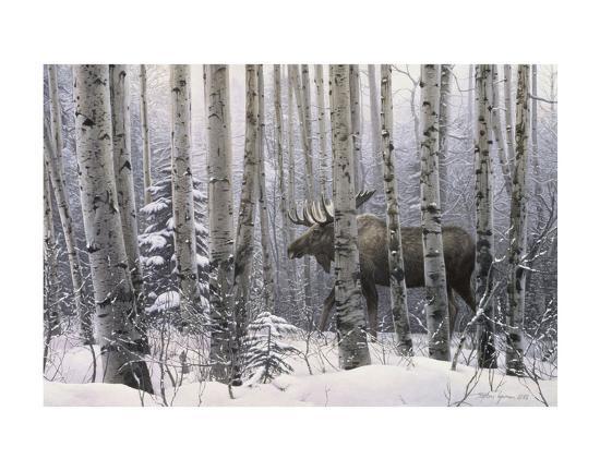 A Walk in the Woods-Stephen Lyman-Art Print
