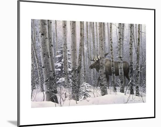 A Walk in the Woods-Stephen Lyman-Mounted Art Print