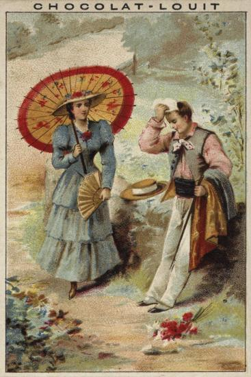 A Walk on a Hot Day--Giclee Print