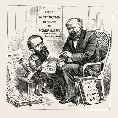 A Wall Street Marvel: Innocence at the Feet of Wickedness. U.S., 1880 1881