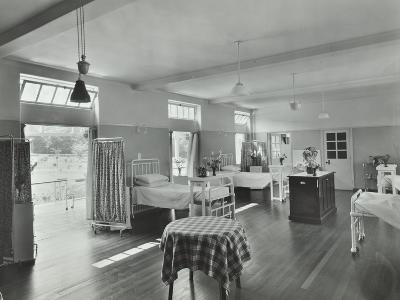 A Ward at Orchard House, Claybury Hospital, Woodford Bridge, London, 1937--Photographic Print