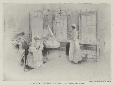 A Ward in the Princess Mary Convalescent Home--Giclee Print
