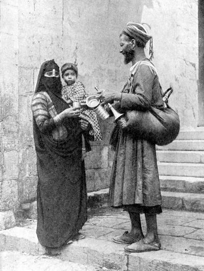 A Water Seller, Cairo, Egypt, 1936-Donald Mcleish-Giclee Print