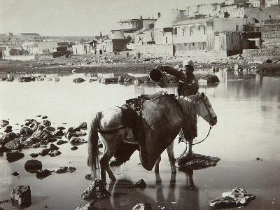 A Watering Place, 1880S-Dmitri Ivanovich Yermakov-Photographic Print