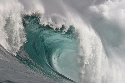 A Wave Breaking in the Atlantic Ocean-Nic Bothma-Photographic Print