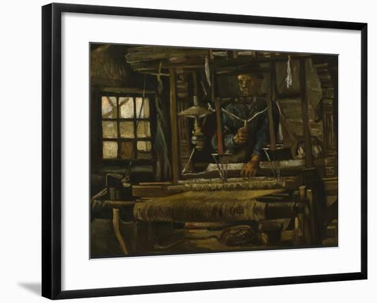 A Weaver's Cottage, 1884-Vincent van Gogh-Framed Giclee Print