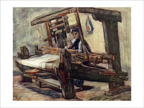 A Weaver-Vincent van Gogh-Giclee Print