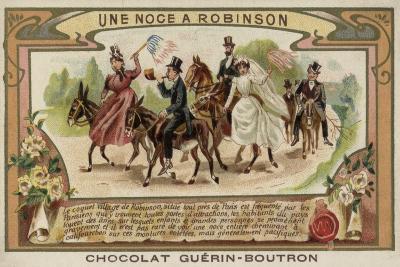 A Wedding at Robinson, Near Paris--Giclee Print