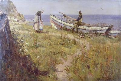 A Welcome Visitor, 1893-Frederick William Jackson-Giclee Print