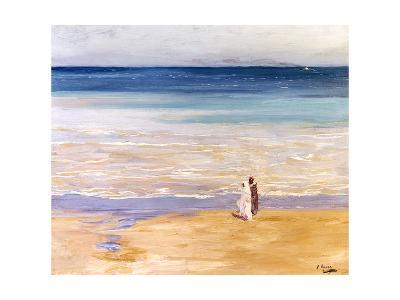 A West Wind-Sir John Lavery-Giclee Print