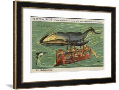 A Whale Bus in the Year 2000--Framed Giclee Print