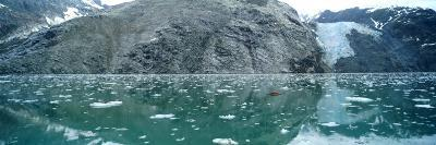 A Wide-Angle View of Glacier Bay in Alaska-Barry Tessman-Photographic Print
