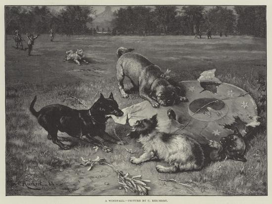 A Windfall-Carl Reichert-Giclee Print