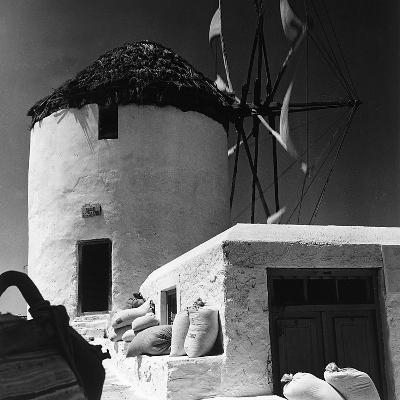 A Windmill in Greece-Pietro Ronchetti-Photographic Print