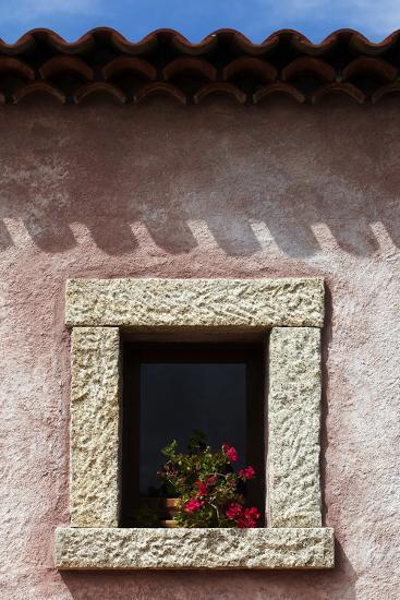 A Window of the Tenuta Pilastru Near Arzachena, Sardinia-Dave Yoder-Photographic Print