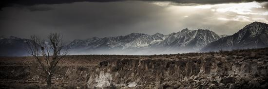 A Winter Storm Descends On The Owen Valley Near Bishop California-Jay Goodrich-Photographic Print
