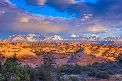 A Winter Sunset in Arches National Park-Ben Horton-Photographic Print