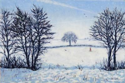 A Winters Walk-Tilly Willis-Giclee Print