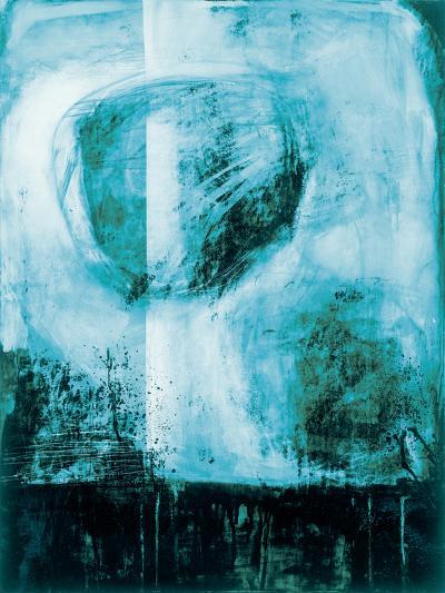 A Wintry Day I Dark Blue-Jane Davies-Art Print