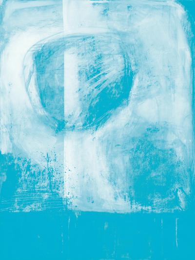 A Wintry Day I Light Blue-Jane Davies-Art Print