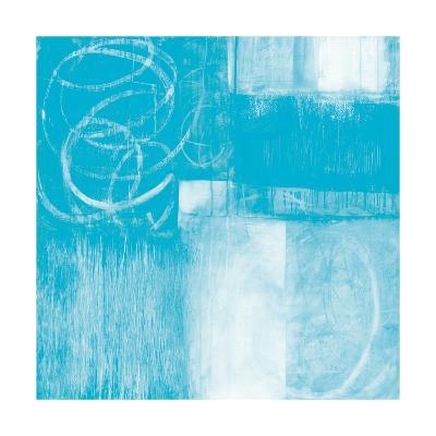 A Wintry Day II Light Blue-Jane Davies-Art Print