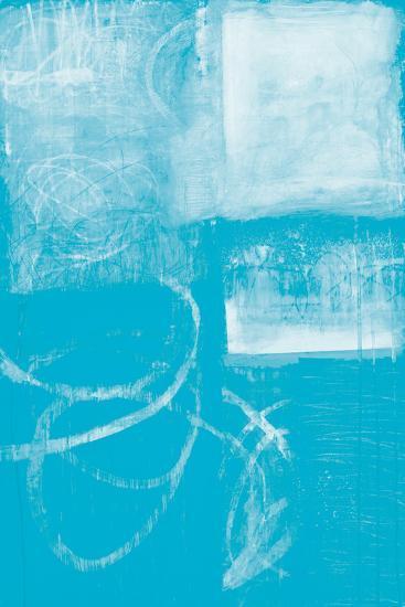 A Wintry Day IV Light Blue-Jane Davies-Art Print