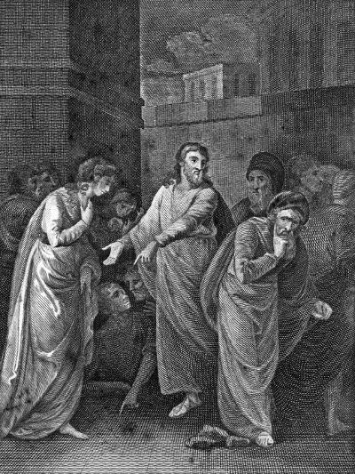 A Woman Accused of Adultery, 1813--Giclee Print