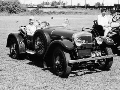 A Woman at the Wheel of a 3.6 Litre 1914 Hispano-Suiza Alfonso XIII, Sydney, Australia