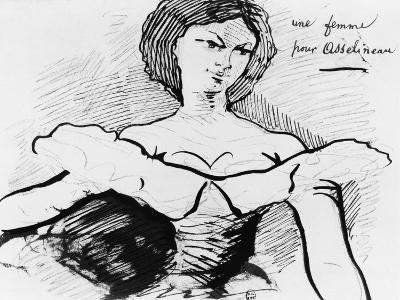 A Woman for Asselineau-Charles Pierre Baudelaire-Giclee Print