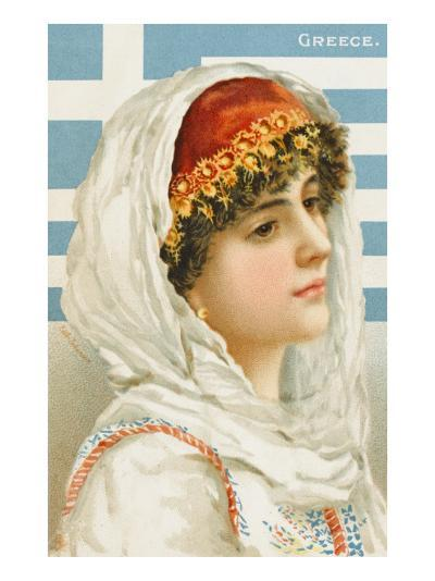A Woman from Greece--Giclee Print