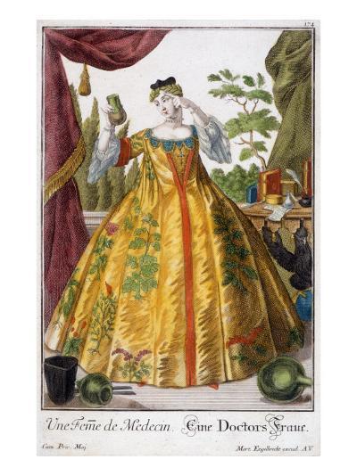 A Woman of Medicine-Martin Engelbrecht-Giclee Print