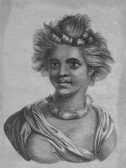 'A Woman of the Sandwich Islands', c18th century-Unknown-Giclee Print