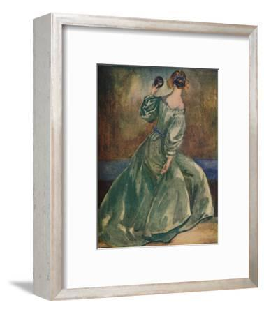 'A Woman of the Time of Cromwells', 1907-Dion Clayton Calthrop-Framed Giclee Print