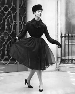 A Woman Wearin Christian Dior's Clothes