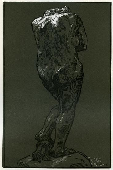 A Woodcut after a Statue by Rodin, 1898-Auguste Lepere-Giclee Print