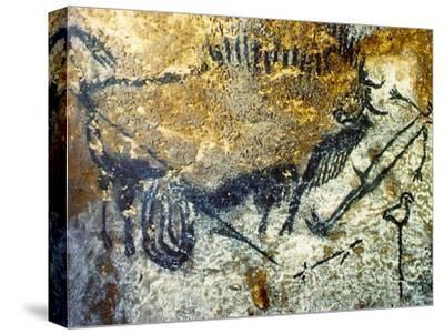 A Wounded Bison Attacking a Man, C.15,000-10,000 Bc