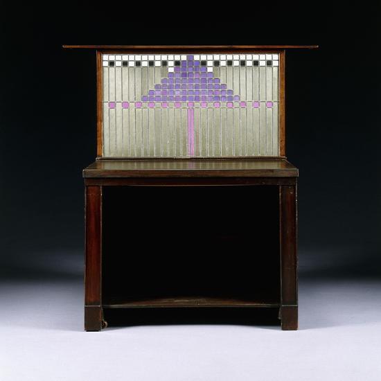 A Writing Cabinet Designed for Walter W. Blackie Esq., Hill House, Edinburgh, 1904-Charles Rennie Mackintosh-Giclee Print
