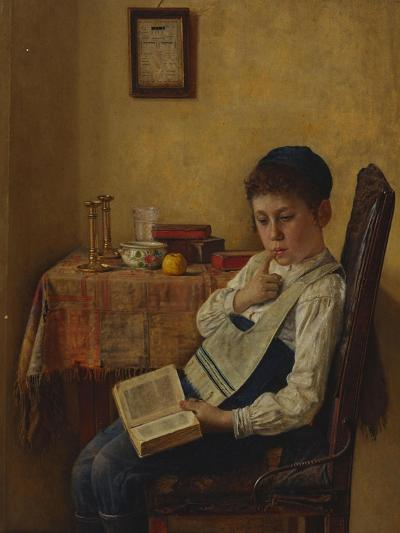 A Yeshiva Boy-Isidor Kauffmann-Giclee Print