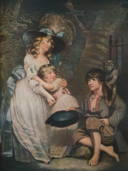 A Young Lady Encouraging the Low Comedian, c1786-1826, (1919)-William Ward-Giclee Print