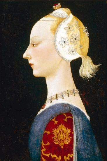 A Young Lady of Fashion, 1462-1465-Paolo Uccello-Giclee Print
