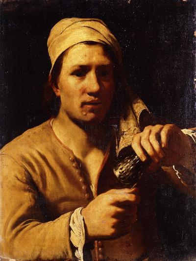 A Young Man in a Turban Holding a Roemer: the Fingernail Test-Michael Sweerts-Giclee Print